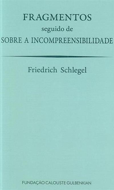 Fragmentos  ; (Friedrich Schlegel)