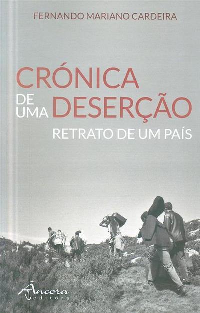 Crónica de uma deserção, retrato de um país (Fernando Mariano Cardeira)