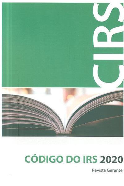 Código do IRS 2020 (Revista Gerente)