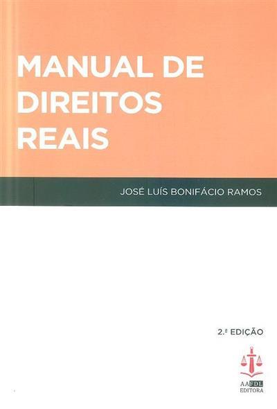 Manual de direitos reais (José Luís Bonifácio Ramos)
