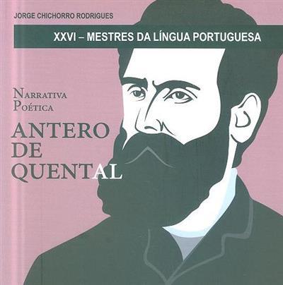 Antero de Quental (Jorge Chichorro Rodrigues)