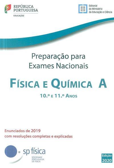 Preparação para os exames nacionais, física e química A, 10º e 11º anos, 2019 (Carlos Portela... [et al.])