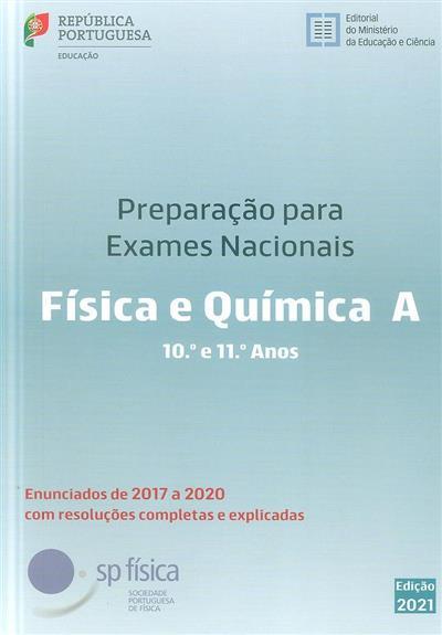 Preparação para os exames nacionais, física e química A, 10º e 11º anos (Carlos Portela... [et al.])