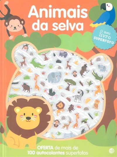 O meu livro superfofo - animais da selva (il. Mafalda Mota)