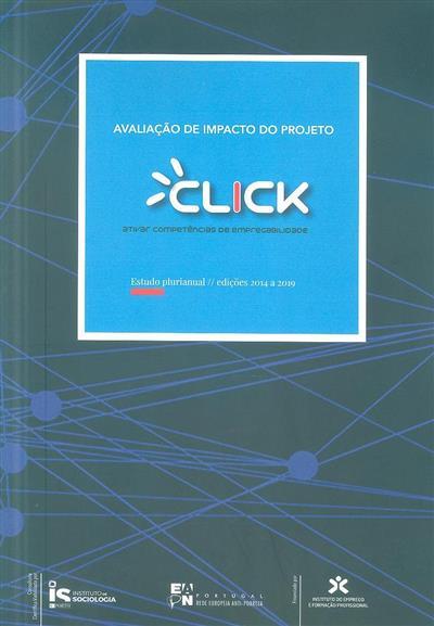 Avaliação de impacto do Projeto Click (EAPN Portugal - Rede Europeia Anti-Pobreza)