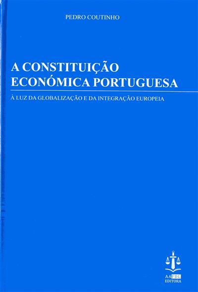 A constituição económica portuguesa (Pedro Coutinho)