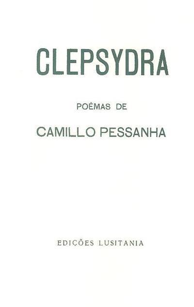 Clepsydra (poemas de Camilo Pessanha)