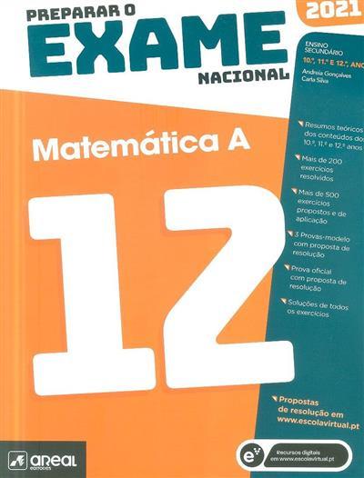Preparar o exame nacional 2021 (Andreia Gonçalves, Carla Silva)