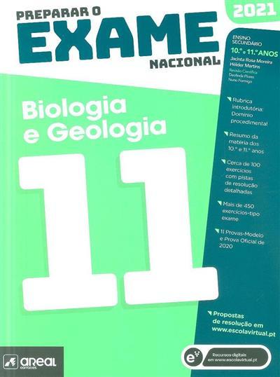 Preparar o exame nacional biologia e geologia 11 (Jacinta Rosa Moreira, Hélder Martins)