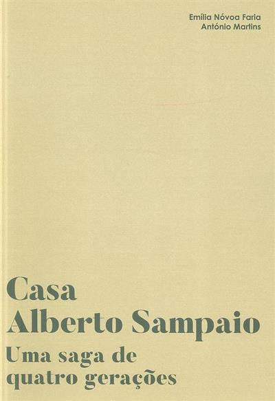 Casa Alberto Sampaio (Emília Nóvoa Faria, António Martins)