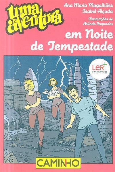 Uma aventura em noite de tempestade (Ana Maria Magalhães, Isabel Alçada)