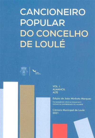 Cancioneiro popular do concelho de Loulé (ed. João Minhoto Marques)
