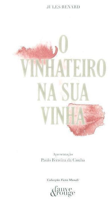 O vinhateiro na sua vinha (Jules Renard)