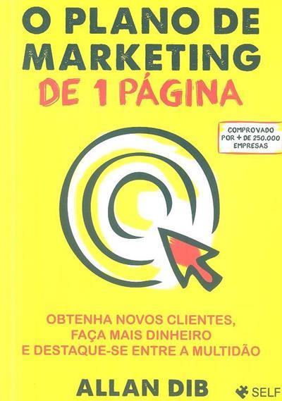O plano de marketing de 1 página (Allan Dib)