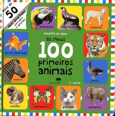 Os meus 100 primeiros animais (trad. Deolinda Machado)