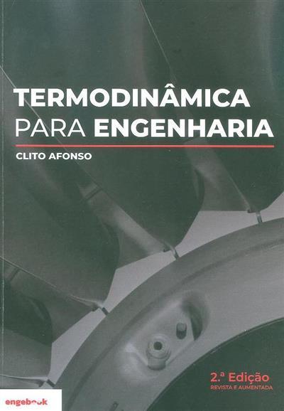 Termodinâmica para engenharia (Clito Afonso)