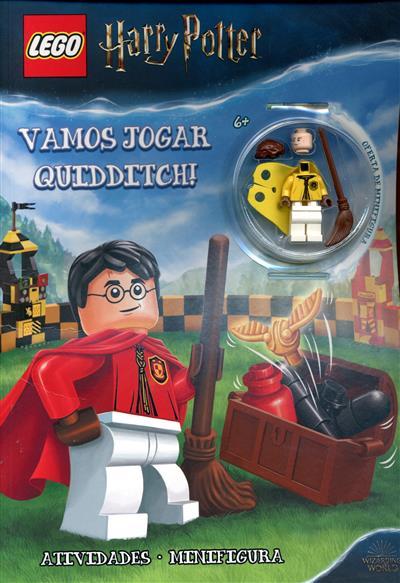 Harry Potter, vamos jogar quidditch!