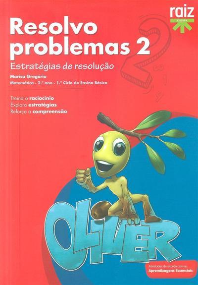 Resolvo problemas 2 (Marisa Gregório)
