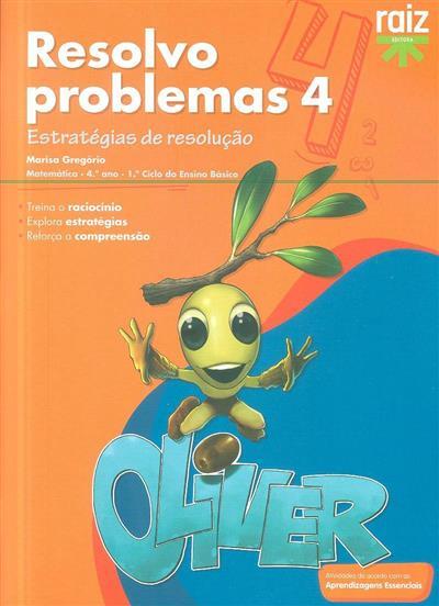 Resolvo problemas 4 (Marisa Gregório)