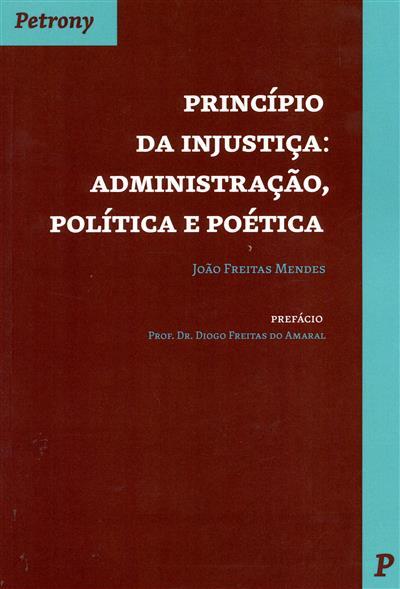 Princípio da injustiça (João Freitas Mendes)