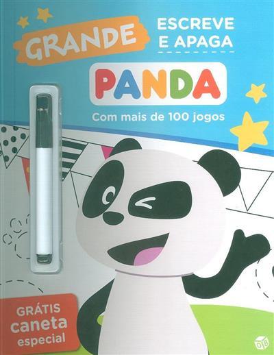 Panda, grande escreve e apaga