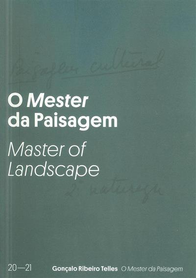 O mester da paisagem (coord. Margarida Cancela d'Abreu, Teresa Bettencourt da Camara)