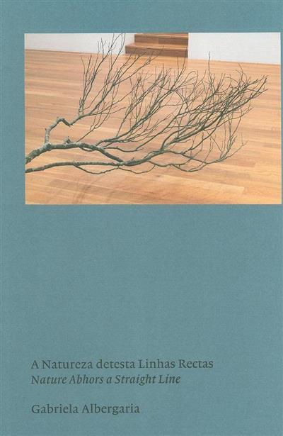 A natureza destas linhas rectas (Gabriela Albergaria)