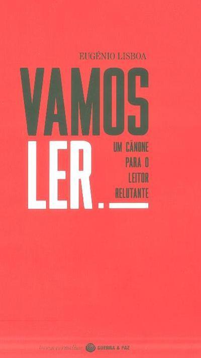 Vamos ler! (Eugénio Lisboa)