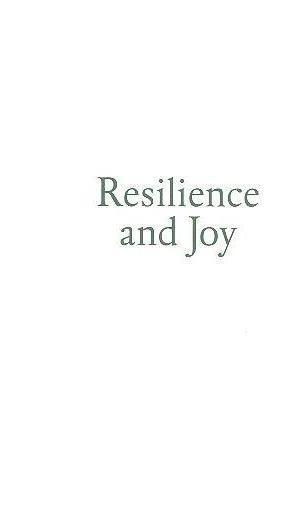 Resilience and joy (ed. Amélia Brandão Costa, Rodrigo da Costa Lima)