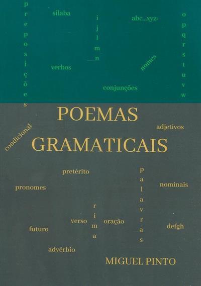 Poemas gramaticais (Miguel Pinto)