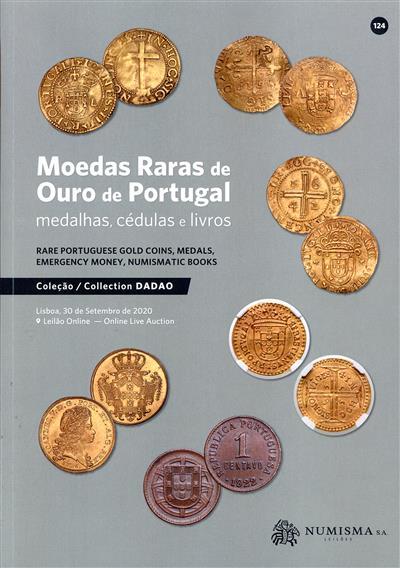 Moedas raras de ouro de Portugal, medalhas, cédulas e livros (conselho cient. Javier Sáez Salgado... [et al.])