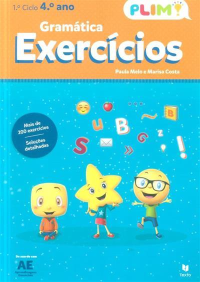 Gramática, exercícios, 4º ano - 1º ciclo (Paula Melo, Marisa Costa)