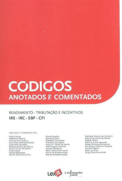 Rendimento, tributação e incentivos (anot. e coment. Abílio Sousa... [et al.])