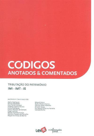 Tributação do património, IMI, IMT, IS (anot. e coment. Abílio Rodrigues... [et al.])