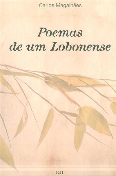 Poemas de um lobonense (Carlos Magalhães)