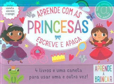 Aprende com as princesas (Elizabeth Golding)